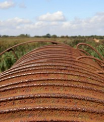 (robep) Tags: uk england metal rust farm norfolk rake thebroads hicklingbroad