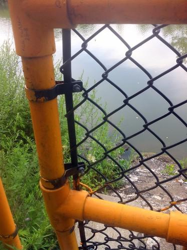 Canal Path kee Klamp Railing