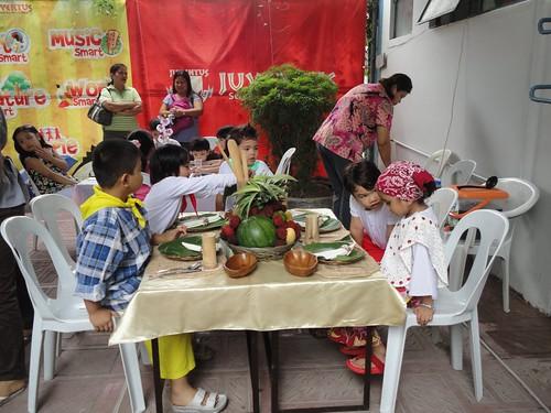 Linggo ng Wika: Table Setting