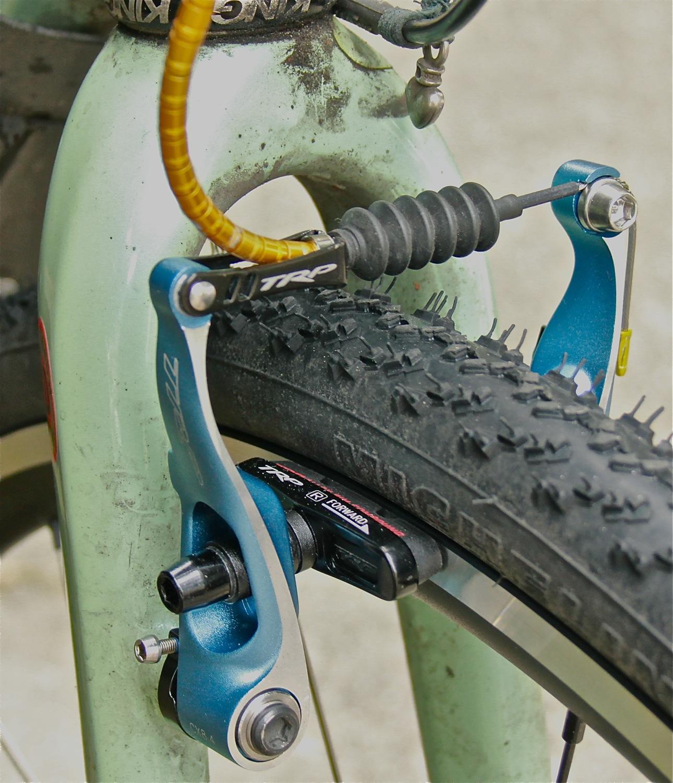 Bicycle V Brake Noodle MTB Bike V-Brake Cable Guide /& Adjuster Screw Adapter