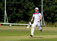 Charity Cricket match for the charity The Jennifer Trust. (jimnotjon) Tags: charity news game sport muscular run cricket lincolnshire event bbc trust lincoln match willows sma jenifer spinal wickets the atrophy washingborough