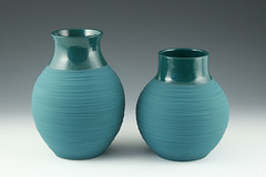 (kwestad) Tags: ceramic aqua vase pottery porcelain kimwestad