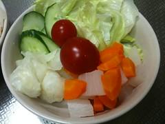 朝食サラダ(2011/8/31)