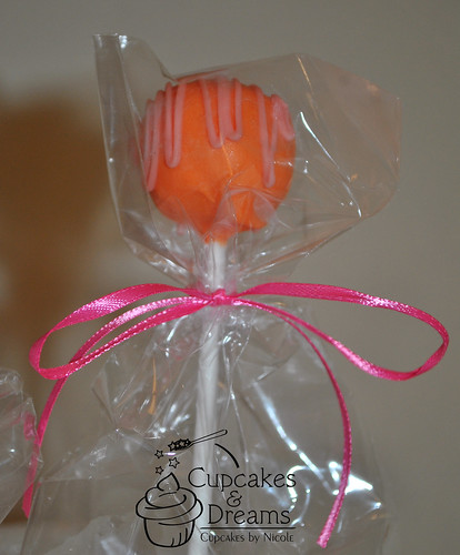 Bridal Shower Cake Pop by Cupcakes & Dreams