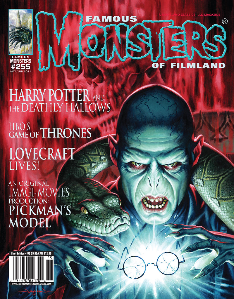 Famous Monsters 255 Harry Potter Voldermort Jason Edmiston