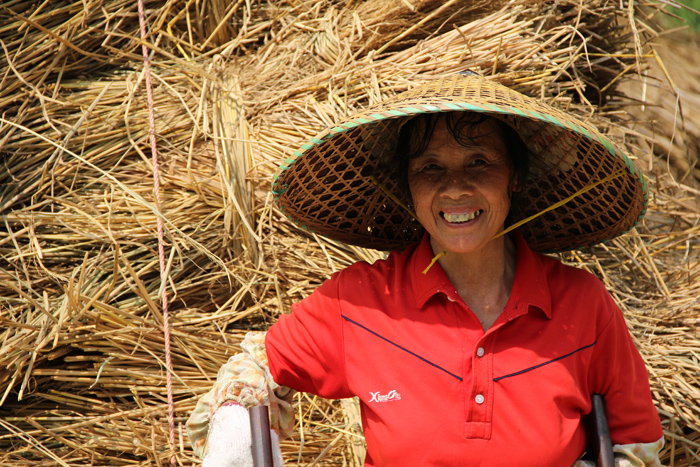 Smiling Lady in Yangshuo, China