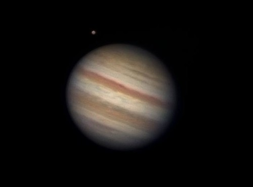 Jupiter and Ganymede 010911 - 0407BST by Mick Hyde