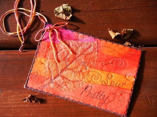 Autumn Post Card by My Sweet Prairie