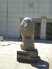 かなり間抜けた顔-横浜トリエンナーレ2011の写真