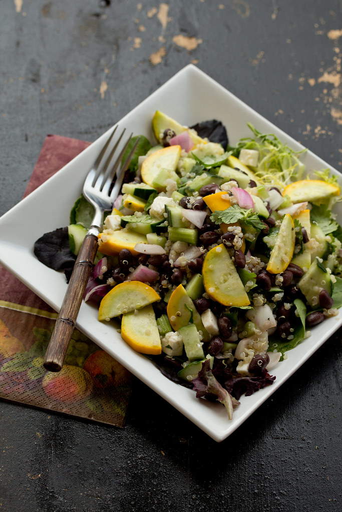 Black Beans & Quinoa Salad - Gluten Free