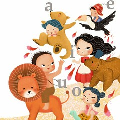 Patricia Yuste (Advocate-Art Illustration Agency) Tags: bear children toucan letters tortoise lion kangaroo freelanceillustrator childrensillustrator illustrationagency advocateart