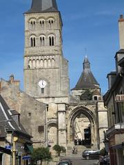 20040506 Valle de la Loire - La Charit-sur-Loire Nivre - Eglise prieurale Notre-Dame -17 (anhndee) Tags: france church river ride moto bmw bourgogne glise fleuve motorrad byke randonne nievre valledelaloire
