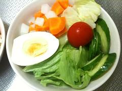 朝食サラダ(2011/9/3)