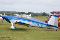 G-CGJN VAN'S RV-7 73185 - 110828 - Little Gransden - Alan Gray - IMG_0663