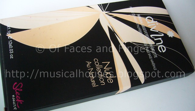 sleek au naturel palette cover