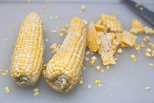 preserving summer corn