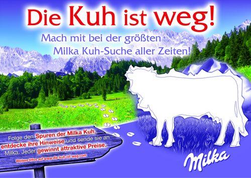 Die Kuh ist weg