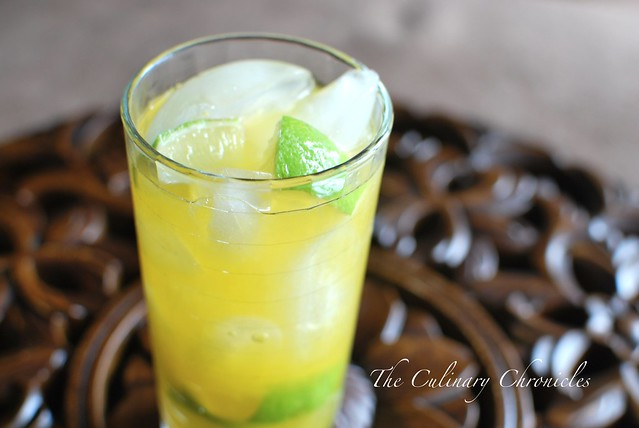 Passion Fruit Caipirinha