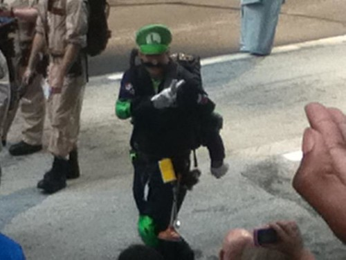 Some of H.o.p.'s 2011 Dragoncon Photos - Luigi as Ghost Buster