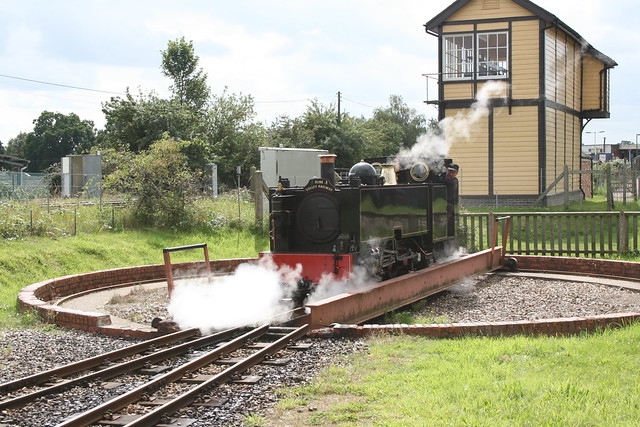 Turntable at Wroxham