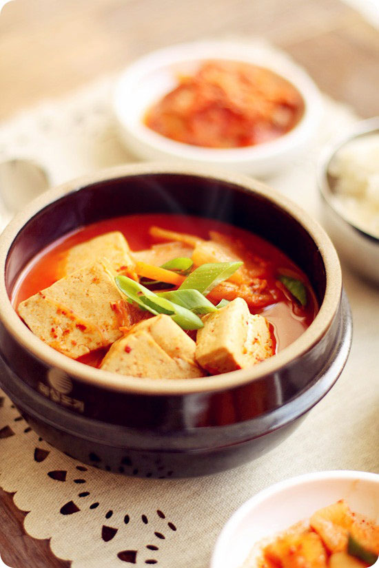 how to make kimchi soup