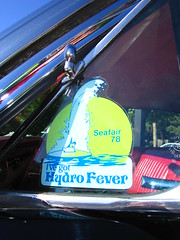 I've Got Hydro Fever (KurtClark) Tags: seattle washington sticker hydro wa 1978 decal seafair carshow fever wedgewood wedgewoodbroiler