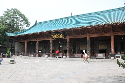 The prayer hall of Great Mosque of Xi'an in China