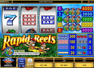 Rapid Reels slot game online review
