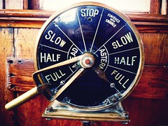 Full ahead (halifaxlight) Tags: wood canada ship novascotia dial captain controls brass lever lunenburg shipsbridge engineordertelegraph