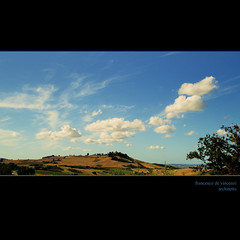 capriccio (archifra -francesco de vincenzi-) Tags: blue sky italy clouds landscape nuvole bleu cielo nuages paysage paesaggio molise منظر μπλε blù سماء σύννεφα τοπίο του الغيوم kartpostal ουρανού زرقاء bassomolise archifraisernia francescodevincenzi mygearandme ciel tavennacampobasso