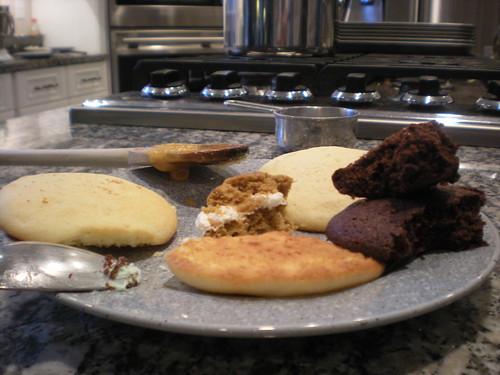 Whoopie pie sampling platter