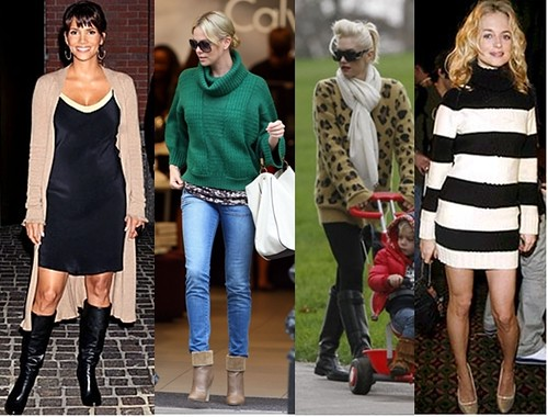 How to Wear Sweaters like a Celebrity