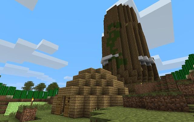 L'arbre et la hutte de son constructeur