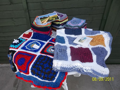 Beautiful Blankets and Squares!