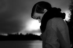 Naksu (Ville Rämö) Tags: portrait sun lake clouds nikon maria beam f28 2470mm sb800 d90 sb700 naksu