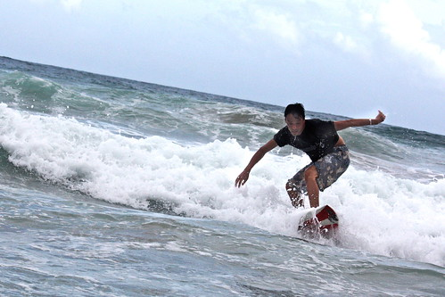 Shirahama. on the surf III