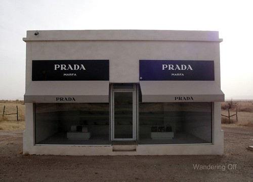 Prada Marfa. West Texas.