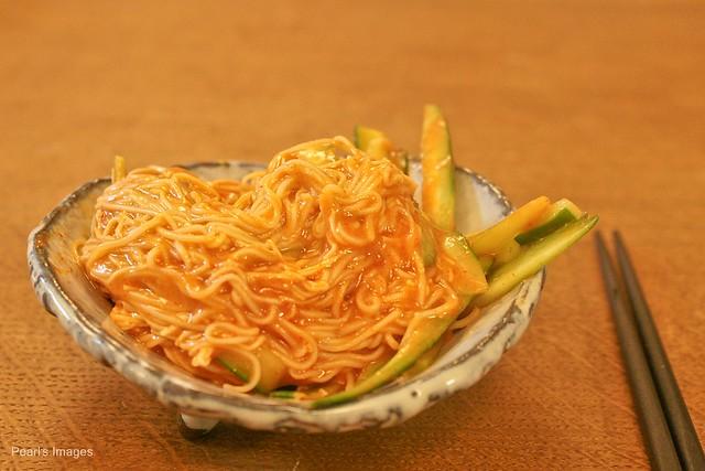韓式辣醬麵線