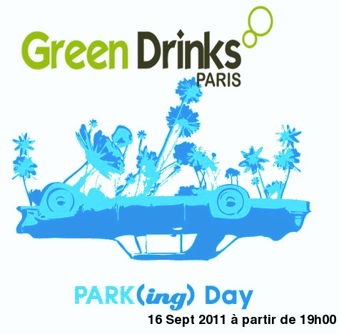 Session GREEN DRINKS PARIS 16 SEPT 2011 PARKING DAY