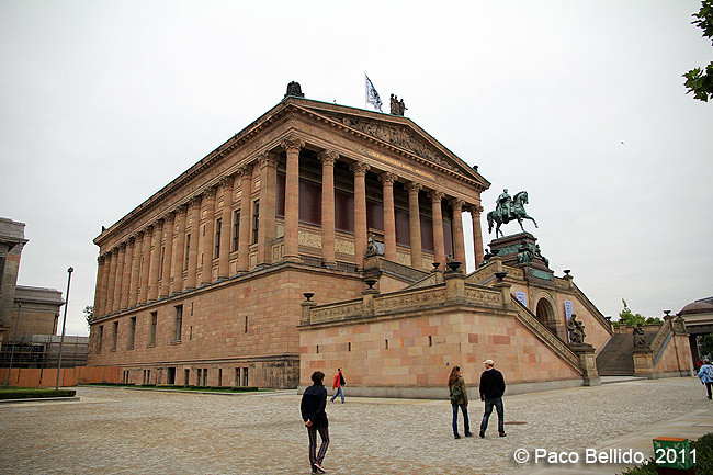 Berlín - Alte Nationalgalerie