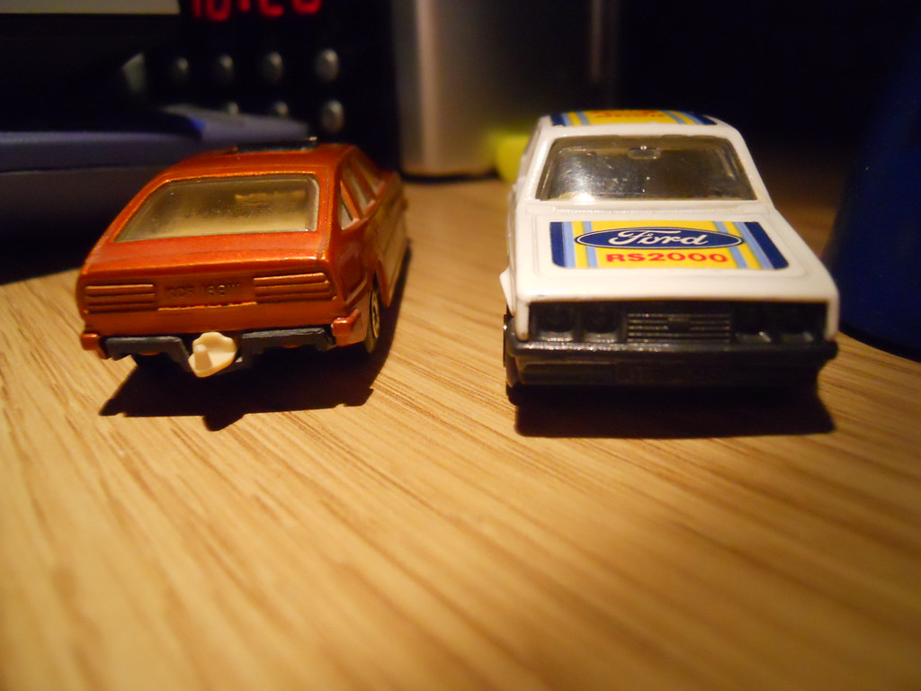 Two REAL motors in die-cast form! (Day 327 of 365)