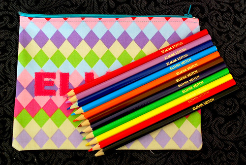 Gift: Personalised pencils