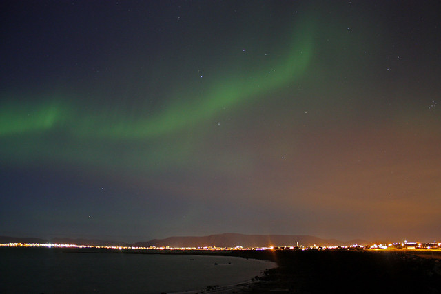 Northern lights: Welcome back!