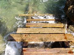 AL AGUA (anniagavañach) Tags: sea mar quay ibiza mediterranenan