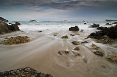 Niembro (Ahio) Tags: longexposure winter water coast waves seascapes shoreline explore marcantbrico pentaxk5