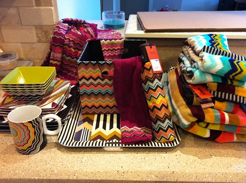 I did score a *few* Missoni things from @Target, though.;)