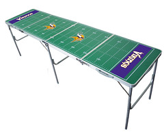 Minnesota Vikings Tailgating, Camping & Pong Table