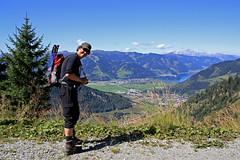 My Kel (Fozzman) Tags: summer mountains alps michael hike alpen zell steinernesmeer salzburgerland 2011 dreibrder kohlschnait zellerlake langweidkogel kitzbhleralps