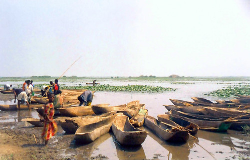 River fisheries, photo by Chris Bene, 2003