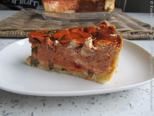 Tarte Paprikacreme + Ziegenfrischkäse 002